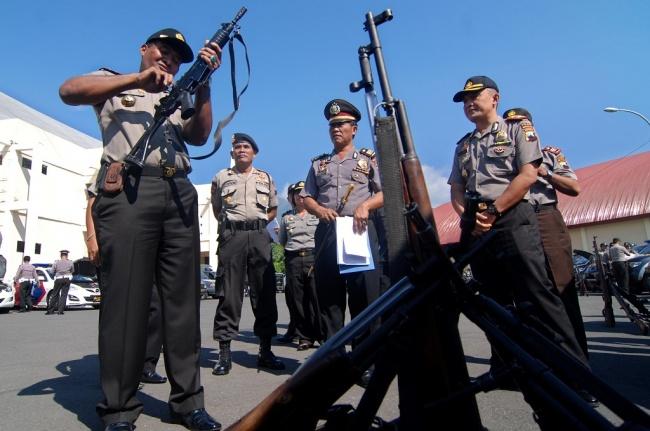 LAMPUNG POST | Sniper Ikut Amankan Jalur Mudik di Jabar