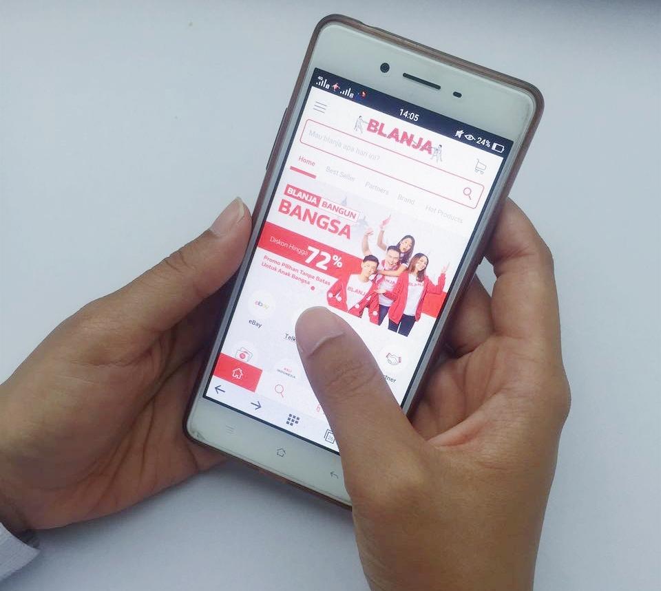 Blanja.com Meriahkan Parade Promosi Kemerdekaan