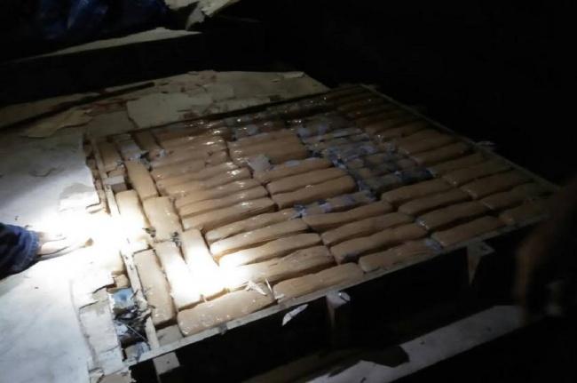 LAMPUNG POST | Polisi Gagalkan Penyelundupan Ganja Seberat 547 Kg