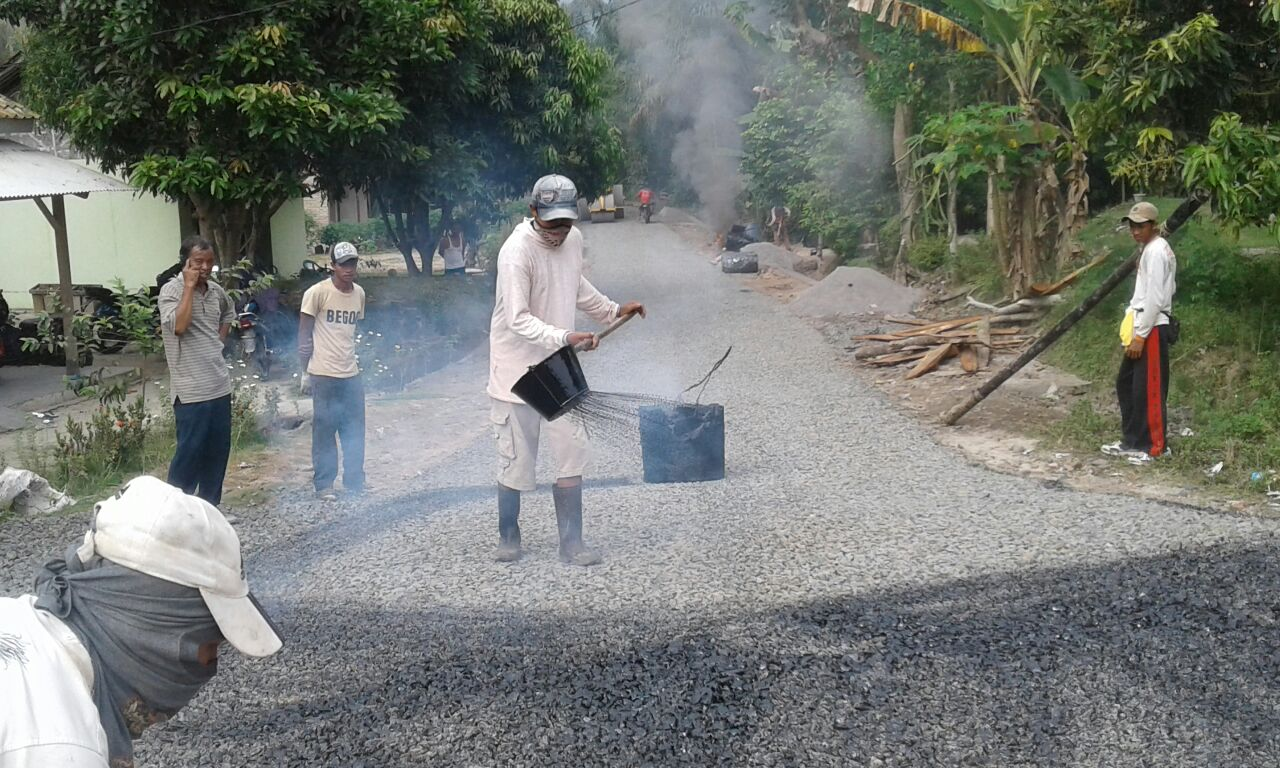 LAMPUNG POST | Desa Kadaung Fokuskan Pembangunan Infrastruktur dari Dana Desa