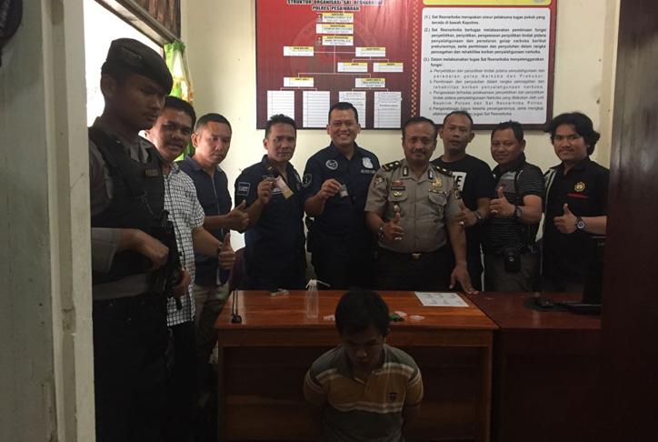 LAMPUNG POST | Polisi Ringkus Tiga Pengedar Sabu di Zona Merah Tegineneng