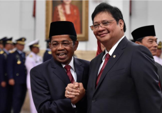 LAMPUNG POST | Pengamat: Hubungan Jokowi dengan Golkar Kian Mesra