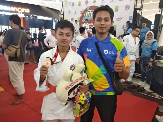 Aldo Surya Pratama Asal Lamtim Raih Perunggu di Festival Yudo Tingkat ASEAN
