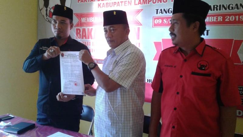 Ali Johan Bakal Duduki Lagi Kursi Ketua DPRD Lamtim