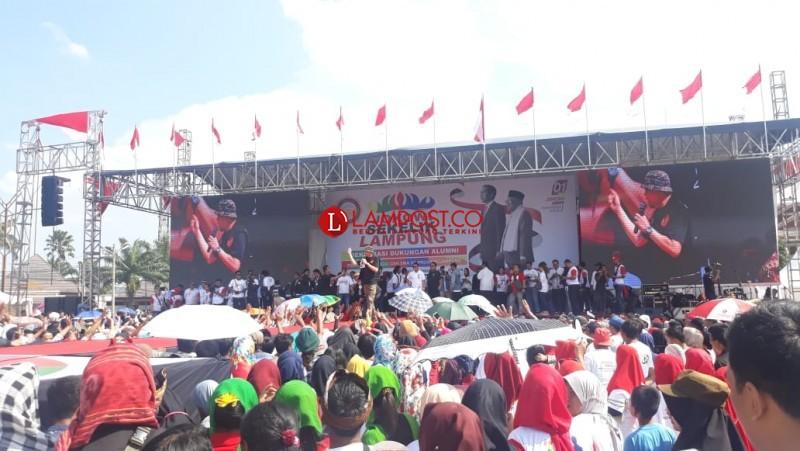 Alumni Perguruan Tinggi dan SMA Dukung Jokowi