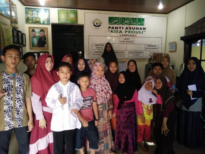 Alumni SMPN 2 Tanjungkarang Angkatan 1993 Gelar Rangkaian Baksos
