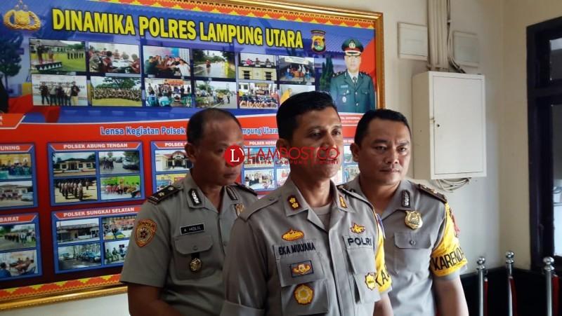 Amankan Pilkada, Polres Lampura Kerahkan 902 Personel