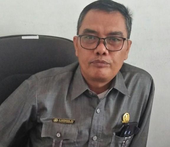 Anggota DPRD Lambar Soroti Pembangunan Irigasi Pertanian