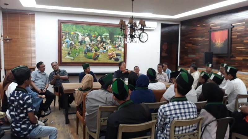 Arinal Djunaidi Berbagi Cerita Bersama HMI Bandar Lampung