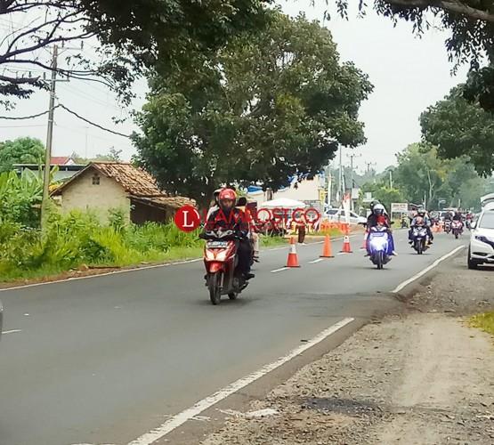 Arus Balik Lebaran 2018 Mulai Ramai di Jalinsum Kalianda