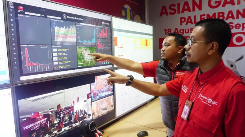 Asian Games, Trafik dan Payload data Telkomsel naik 720%