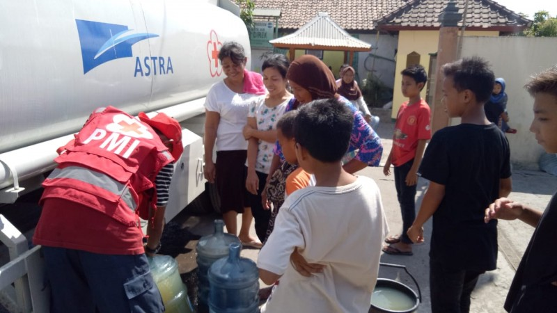 Astra Serahkan Bantuan Rp550 Juta untuk Lombok