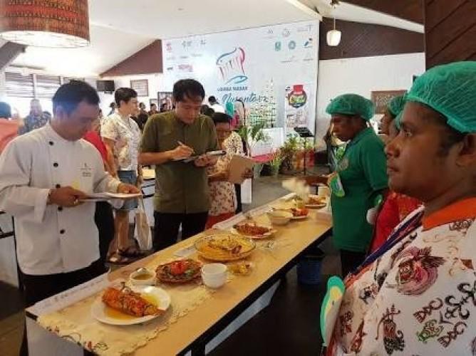 Audisi Lomba Masak Ikan Nusantara Bandar Lampung Diikuti 39 Peserta