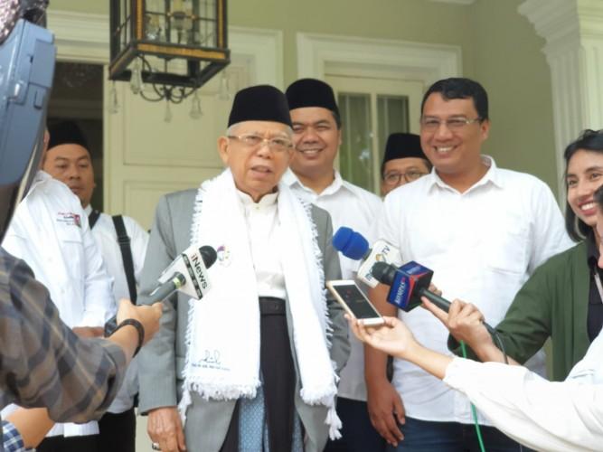 Awali 2019, Kiai Ma'ruf Kunjungi Sejumlah Ponpes di Bogor