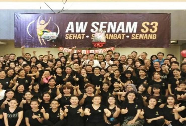 Ayo Ikut Senam S3 Bersama Andrie Wongso di Pahoman