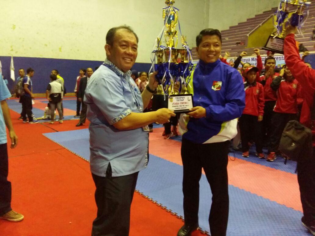 Lampung Utara Juara Karate Porprov VIII/2017