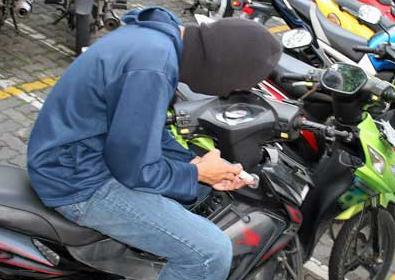 Meski Sudah Digulung Polisi, Pencurian Motor Masih Marak