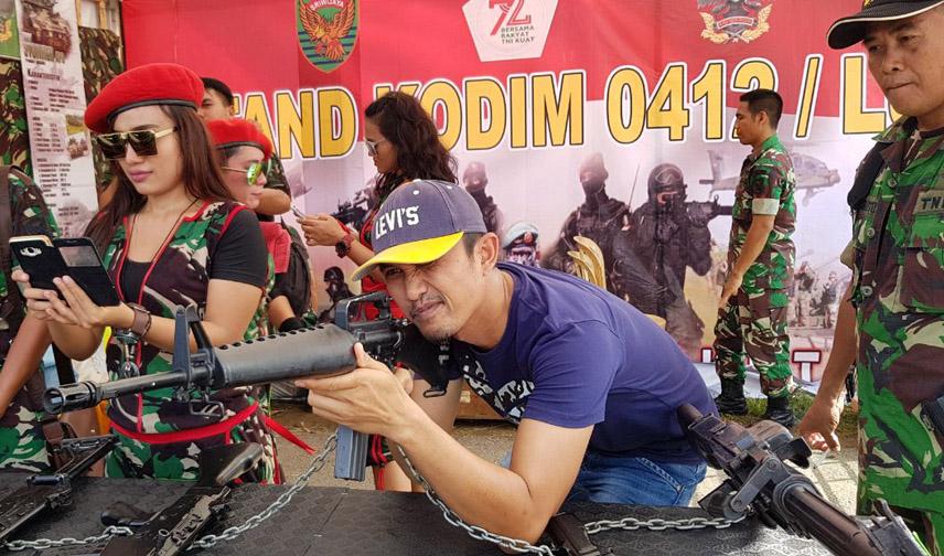 LAMPUNG POST | Kodim 0412 Apresiasi Kado Istimewa dari Polres Tuba di HUT TNI ke-72