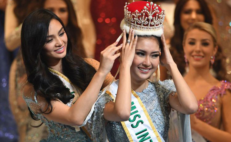 Indonesia Raih Gelar Miss International 2017