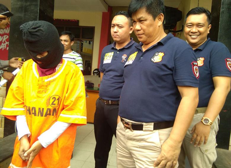 Kepergok Mencuri, Wanita Residivis Narkoba Ini Ditangkap Warga