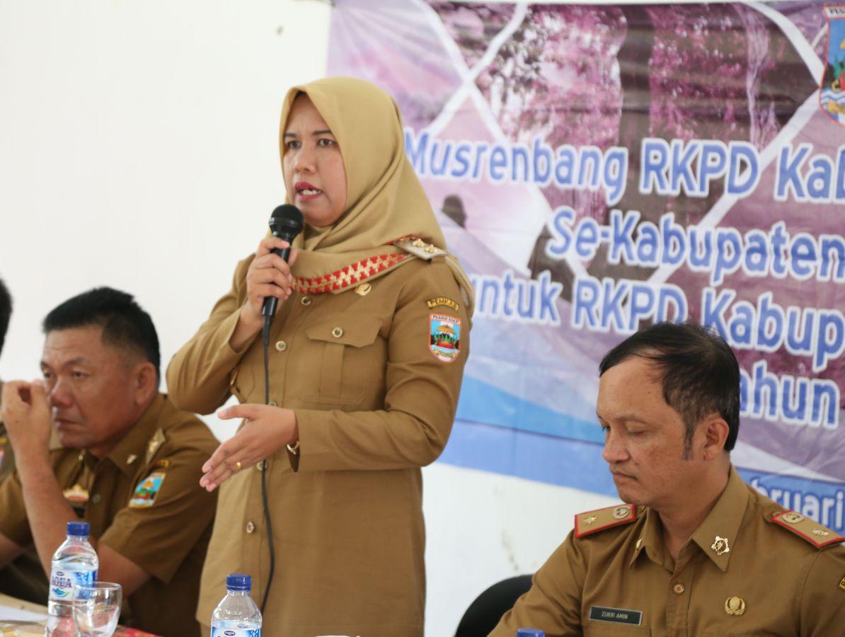 LAMPUNG POST | Wakil Bupati Erlina Tutup Kegiatan Musrenbang di Kecamatan Pulau Pisang