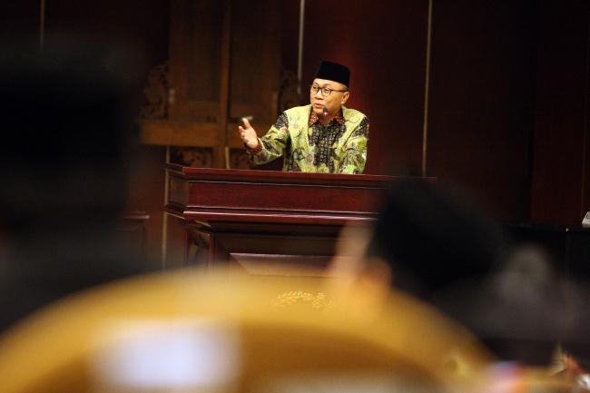 LAMPUNG POST | Ketua MPR: Pancasila tak Perlu Diperdebatkan