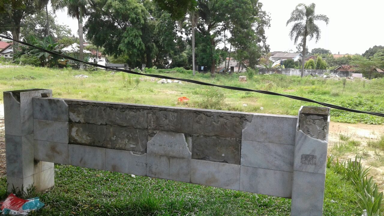 Warga Metro Pertanyakan Pembangunan Gedung Wanita