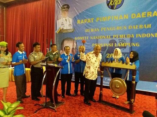 LAMPUNG POST | KNPI Lampung Diimbau Jaga Kebhinekaan