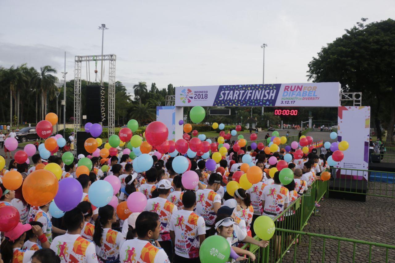 2.000 Peserta Ikuti Run For Difable