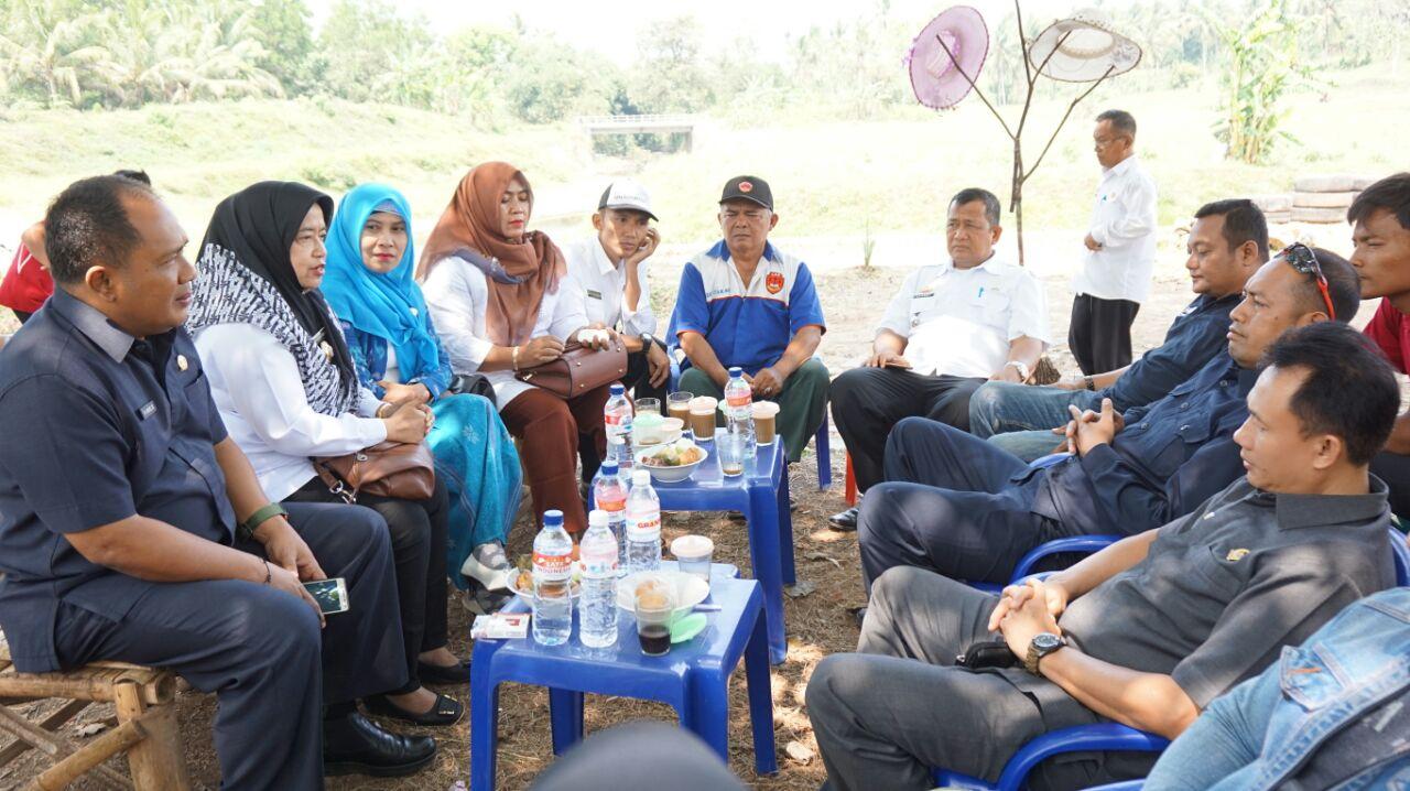 LAMPUNG POST | Pemuda Talangbaru Kelola Wisata Bendungan di Lampung Selatan