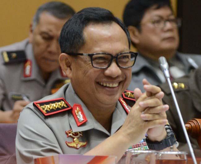 Kapolri Sambut Baik Penunjukan Marsekal Hadi sebagai Calon Panglima TNI