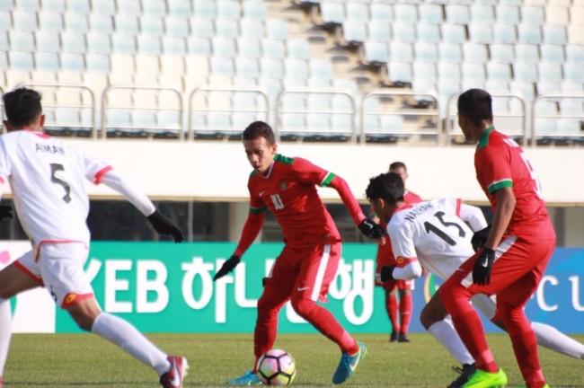 Kualifikasi Piala Asia: Timnas U-19 Bantai Brunei 5-0