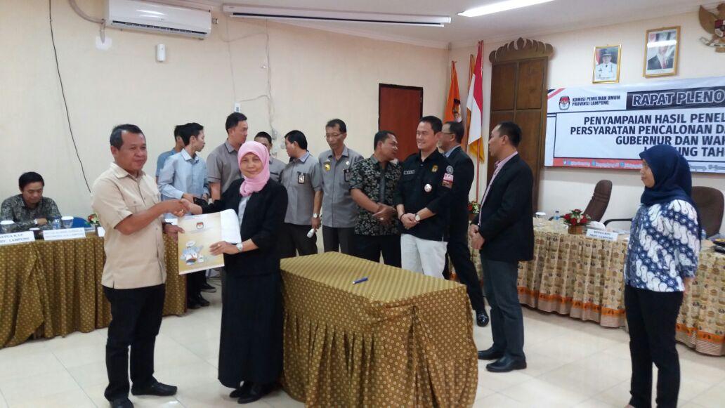 LAMPUNG POST | KPU Lampung Beri Waktu Kelengkapan Berkas Calon