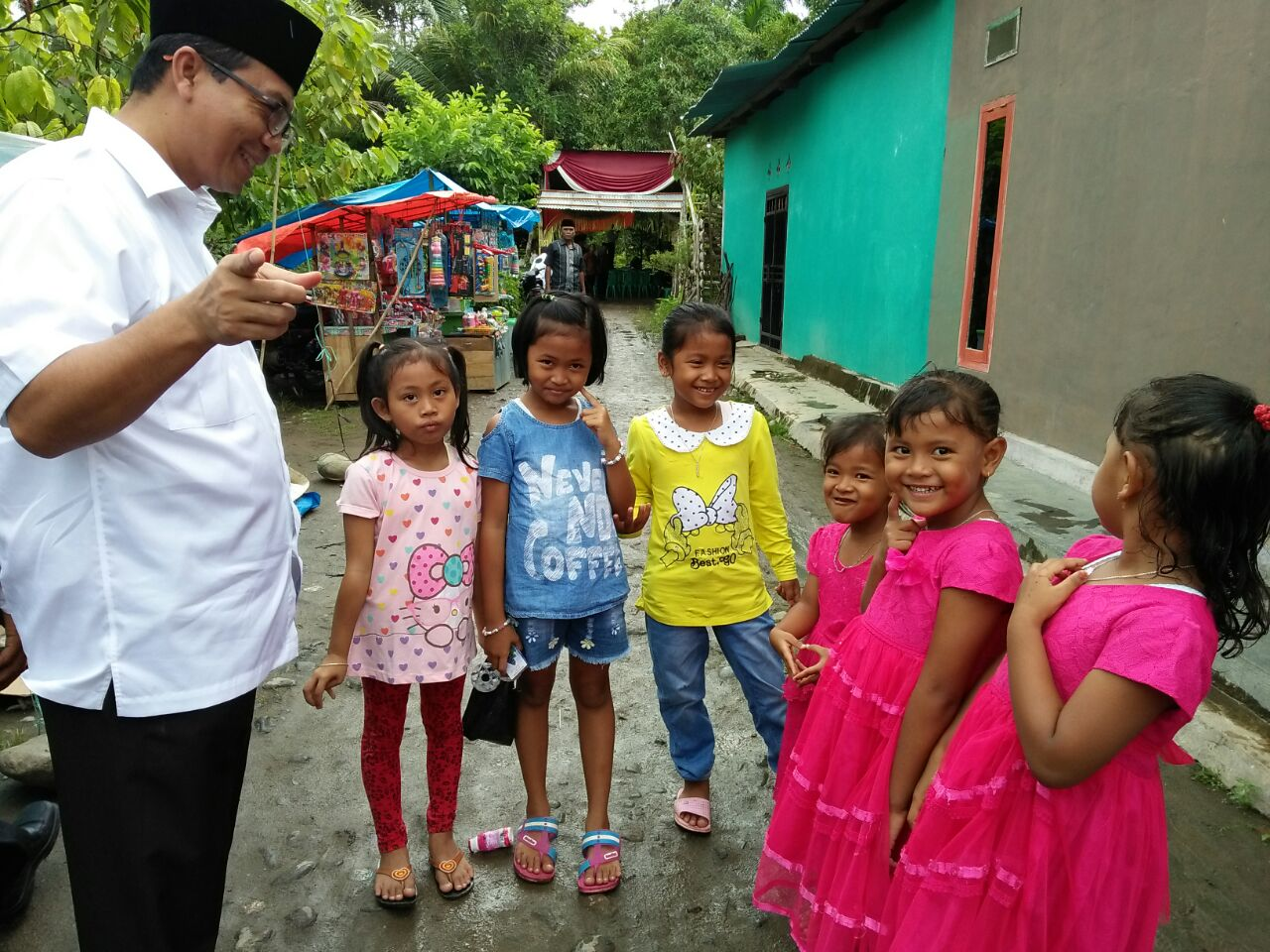 Ahmad Jajuli Komitmen Ciptakan Desa Ramah Anak