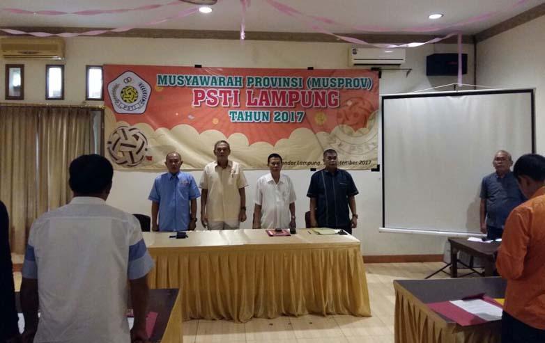 LAMPUNG POST   PSTI Lampung Gelar Musprov Ke-5