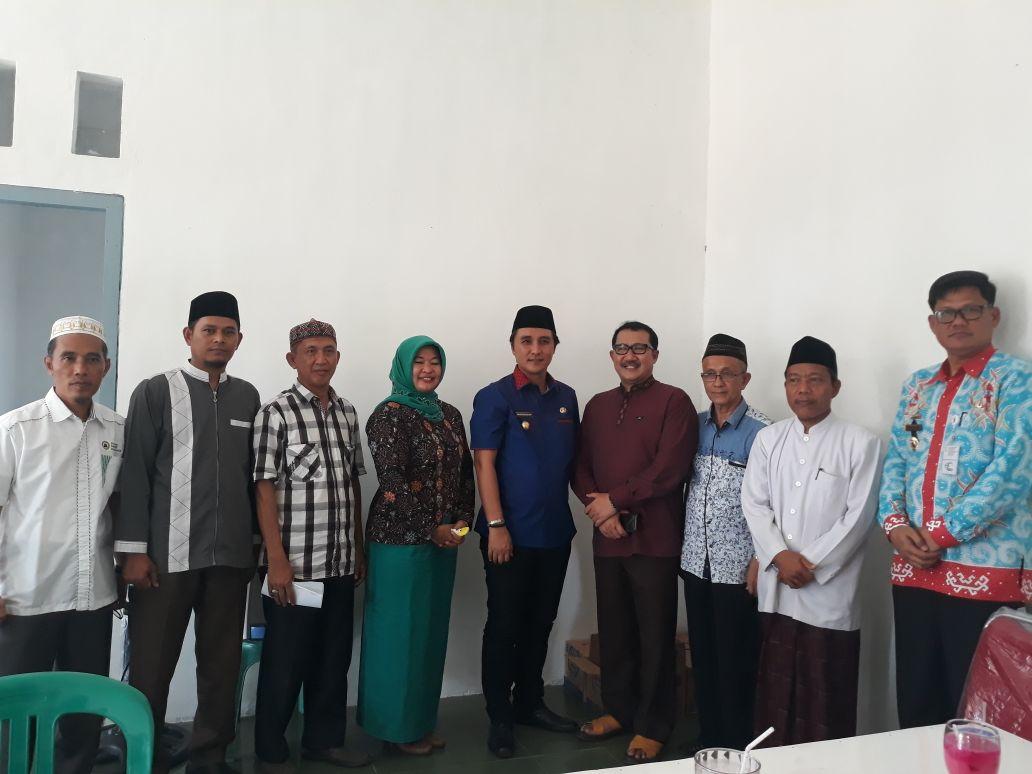 LAMPUNG POST | Hendriwansyah Terpilih Jadi Ketua Dewan Masjid Indonesia Tulangbawang Periode 2018-2023