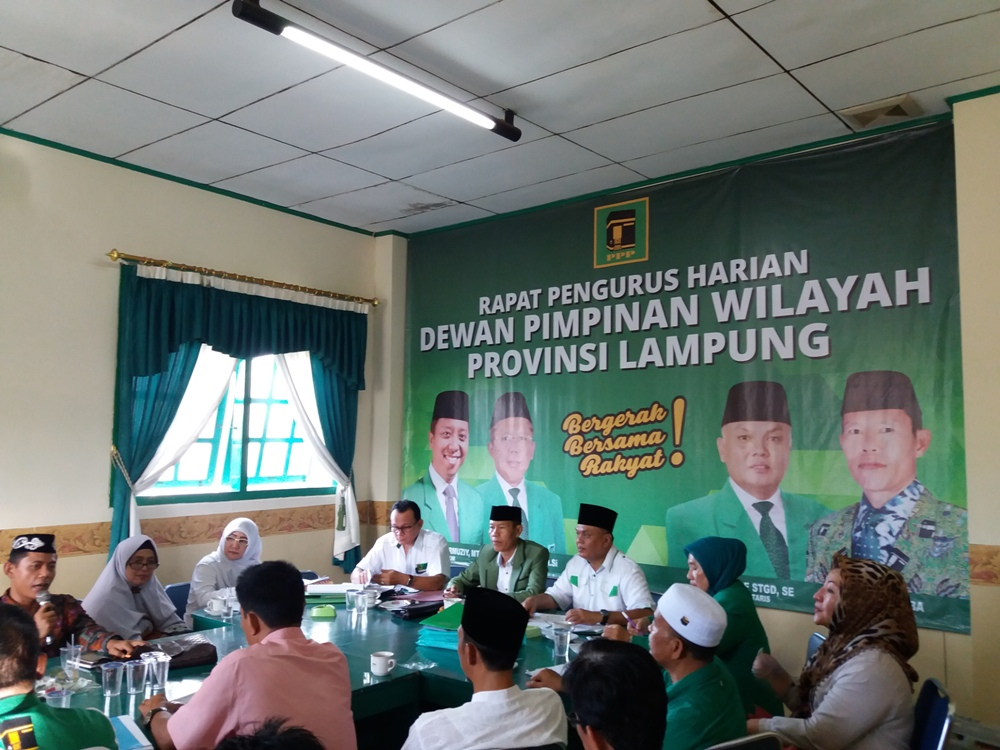 LAMPUNG POST   PPP Rohmaurmuziy  Gelar Rapimnas di Jakarta
