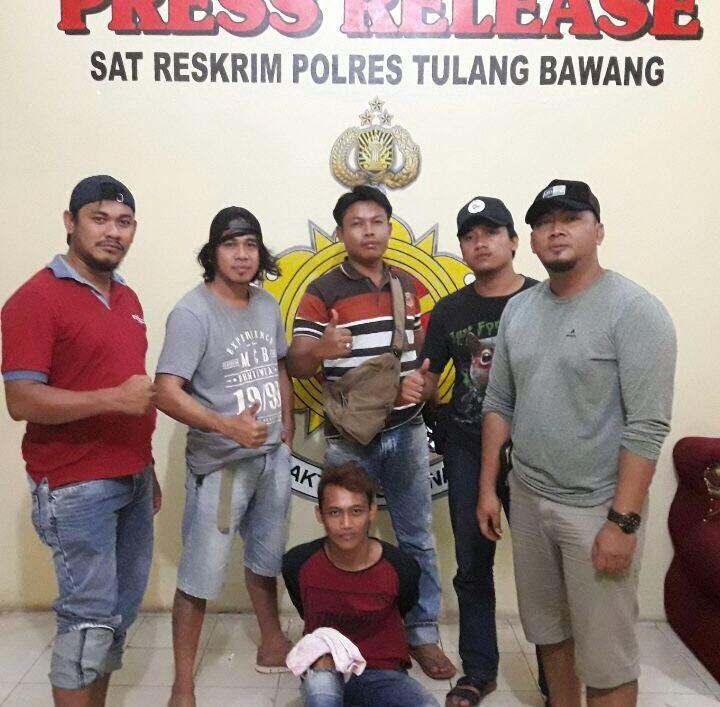 Pelaku Pembunuhan WNA di Bali Ditangkap di Tulangbawang