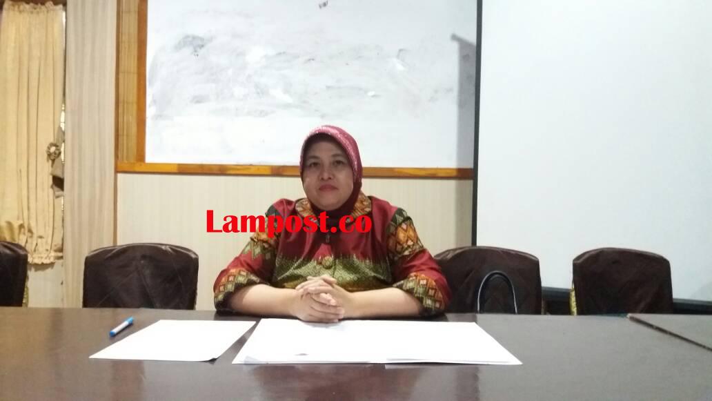 LAMPUNG POST   Nur Hasanah Perempuan Pertama Siap Maju Wagub Lampung