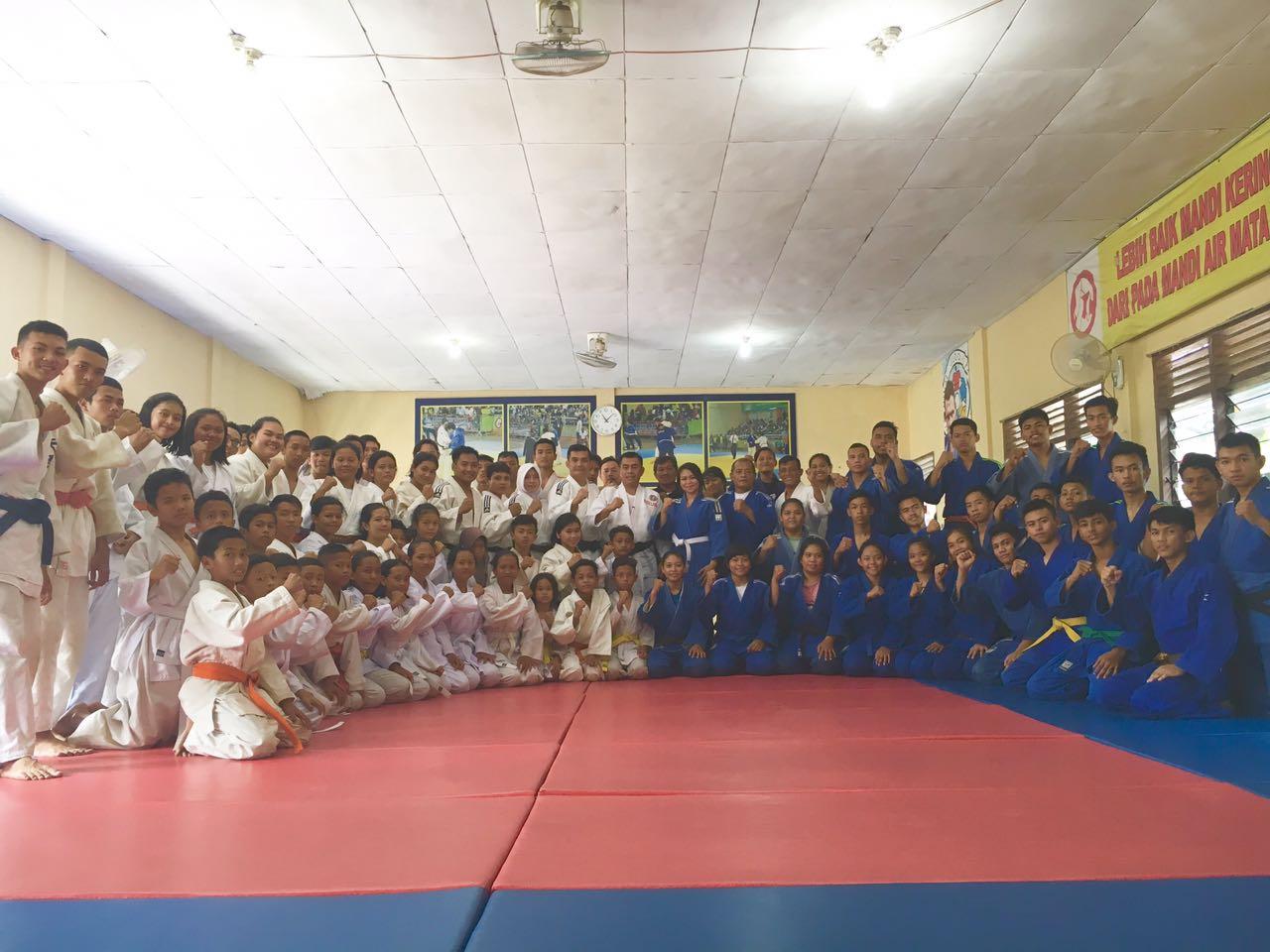 LAMPUNG POST | Atlet Judo Lampung Siap Bawa Pulang Medali di Kartika Cup 2018