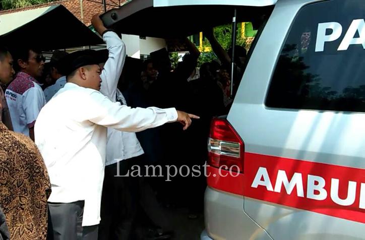 LAMPUNG POST   Ketua DPC Perindo Tubaba Fauzi Murni Meninggal Dunia