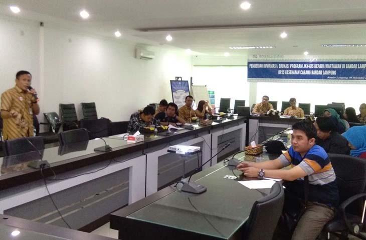 Baru 55,63 Persen Warga Lampung Jadi Peserta BPJS Kesehatan