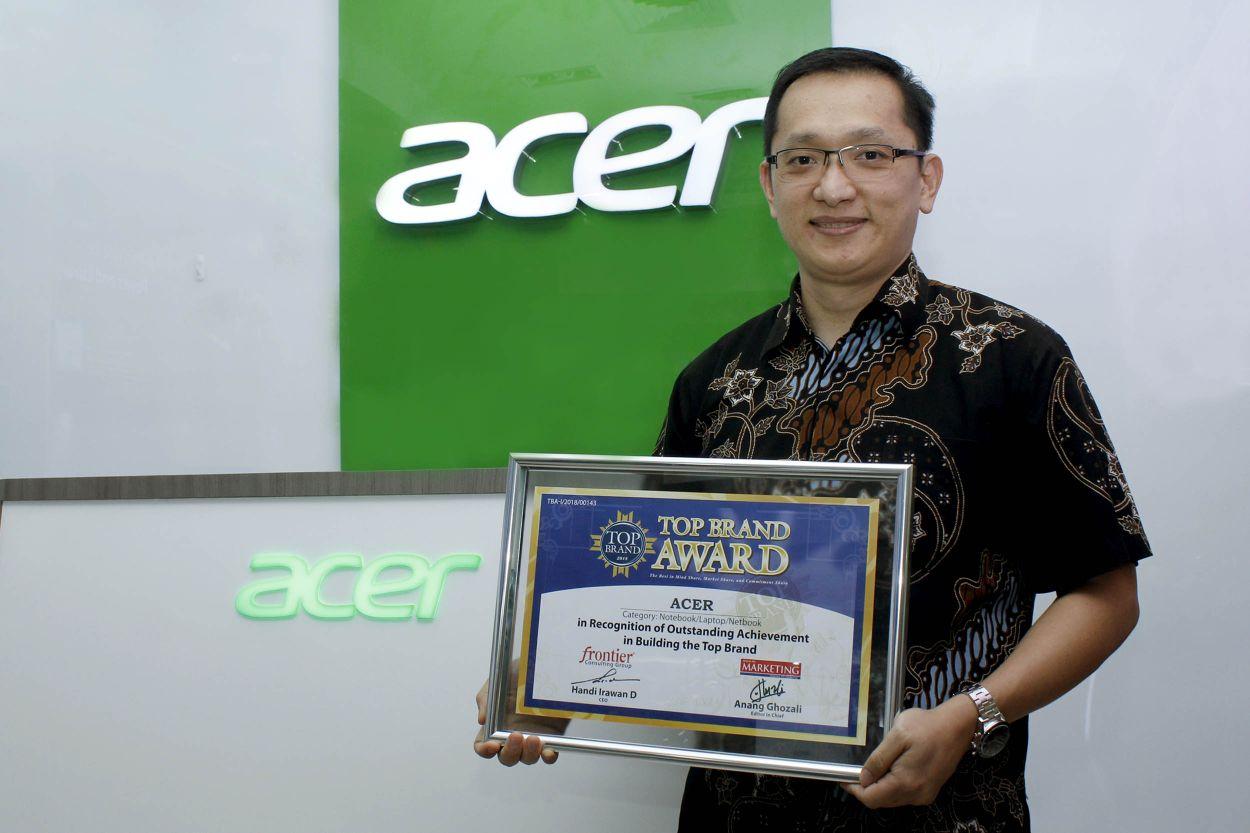 LAMPUNG POST | Acer Raih Top Brand Award yang ke-11 Kali