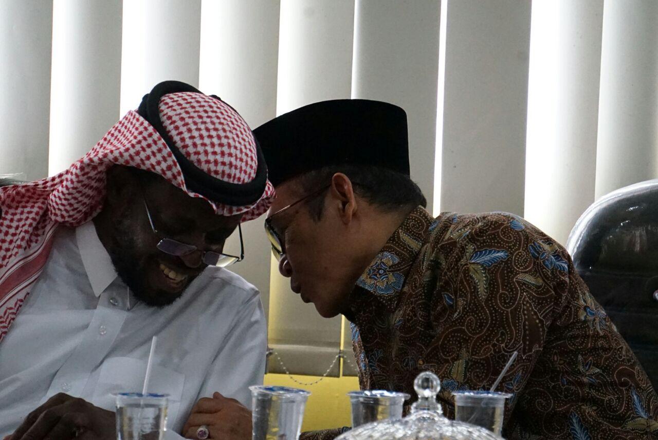 Perwakilan Dubes Arab Saudi Kunjungi UIN Raden Intan