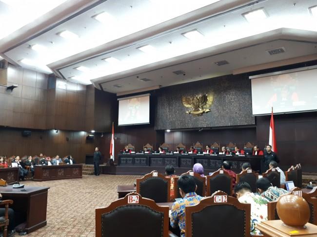 MK Tolak Gugatan Soal Ambang Batas Presiden
