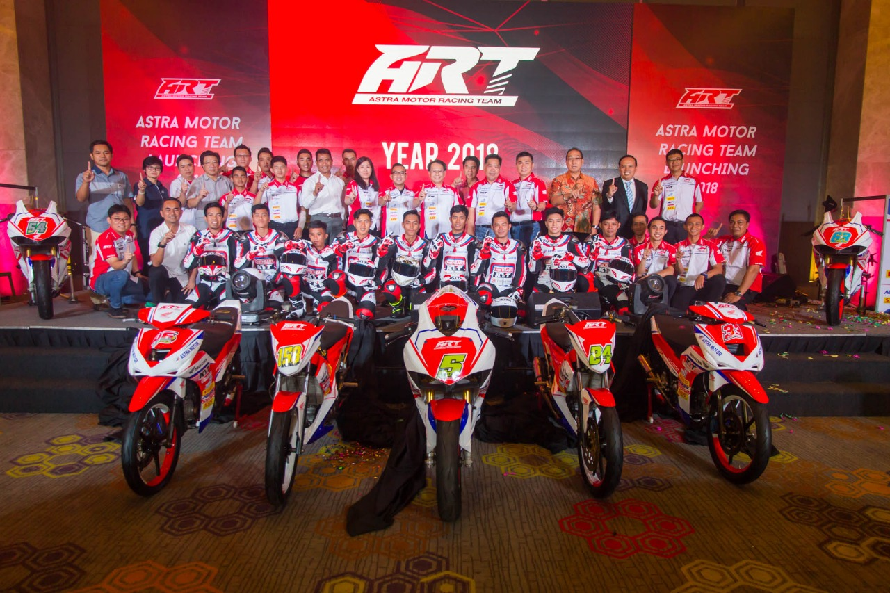 Ini Komposisi Pembalap Astra Motor Racing Team