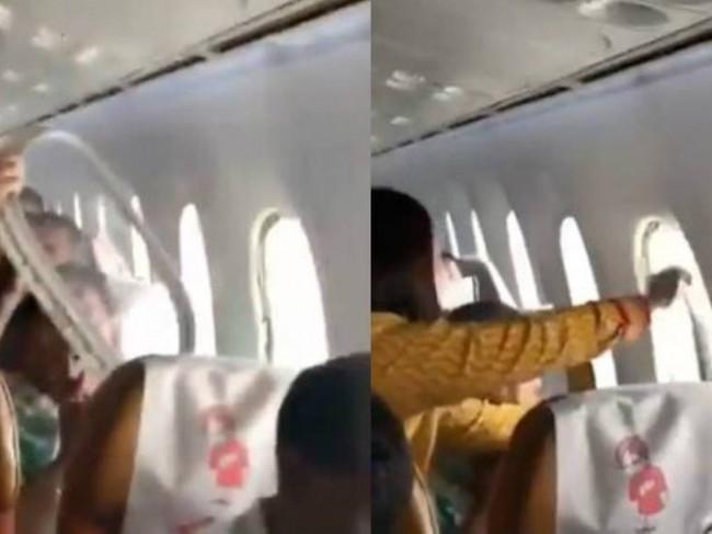 LAMPUNG POST | Panel Jendela Air India Terlepas dan Lukai 3 Penumpang