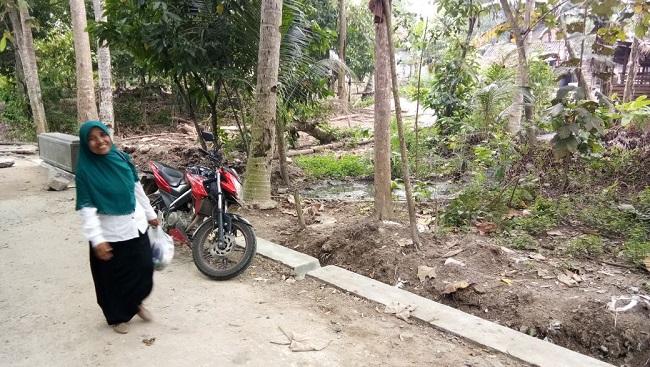 Warga Dusun Sukabangun Keluhkan Bau Busuk Limbah Tahu