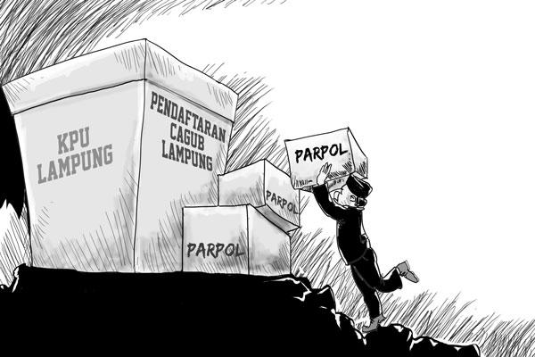 LAMPUNG POST | Momentum Akhir Perburuan Parpol