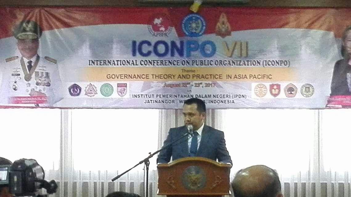 Gubernur Lampung Jadi Keynote Speaker Pada Konferensi Internasional